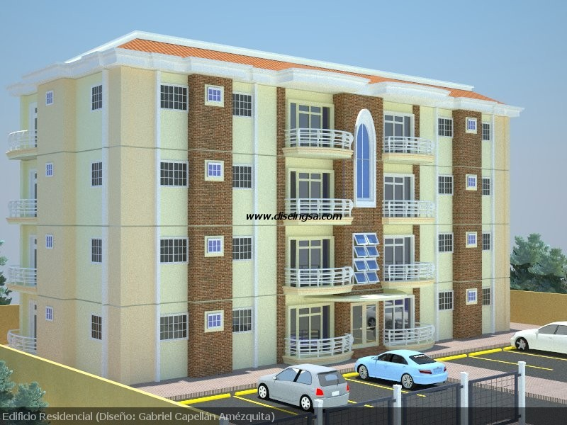 Edificio de apartamentos dise o e ingenier a s r l for Diseno de apartamento de 4x8 mts