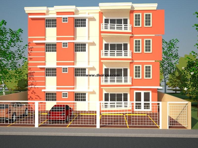 Edificio de apartamentos ii dise o e ingenier a s r l for Diseno de apartamento de 60m2