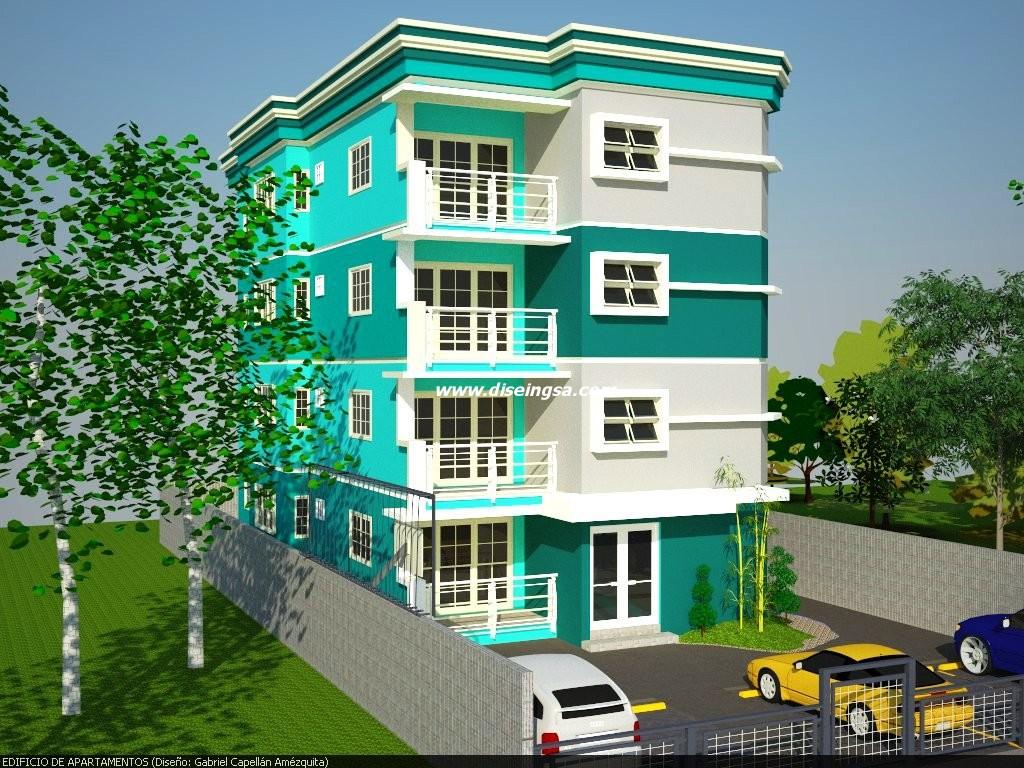 Edificio de apartamentos iii dise o e ingenier a s r l for Diseno de edificios